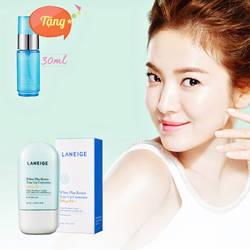 Tinh chất dưỡng trắng hiệu chỉnh da ban ngày Laneige + xịt khoáng Water Bank Mineral Skin Mist 30Ml