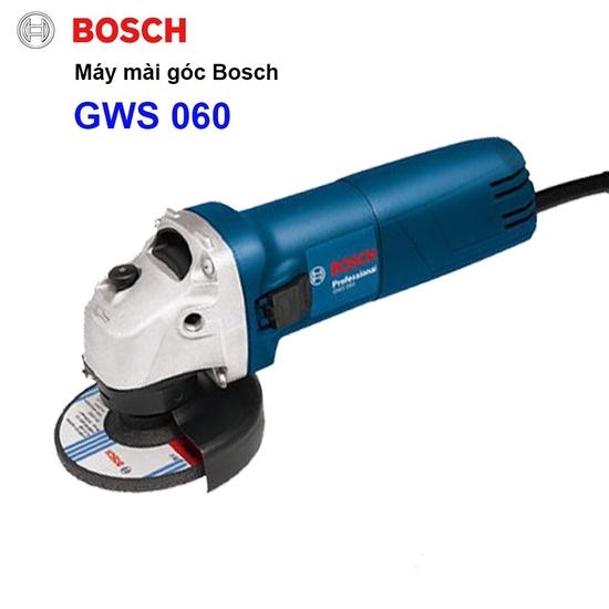 [BOSCH] Máy khoan GS550 + máy mài GWS060 + bộ 3 mũi khoan CYL-1+đá cắt 100x1,2x16 + đá mài 100x6x16