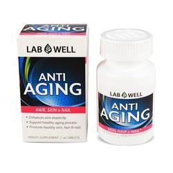 Bộ 4 hộp Viên uống Collagen Anti Aging của Mỹ (Mua 3 tặng 1)