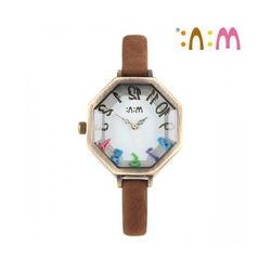 Đồng hồ Mini Hàn Quốc MN2053 màu nâu
