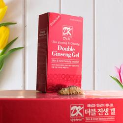 04 (3+1) Hộp Thạch Nhân sâm, Hải sâm Double Ginseng Gel (Hàn Quốc)
