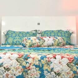 Combo 2 bộ drap AIR WEAR BED 1m8- Nắng hè (không chăn)