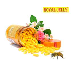 GHN_01 hộp sữa ong chúa Royal Jelly + 02 hộp trà gừng (LIVE)
