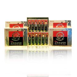 Bodeokwon_01 hộp (06 củ) Sâm nguyên củ tẩm mật ong + 01 hộp (200gr) kẹo sâm dẻo