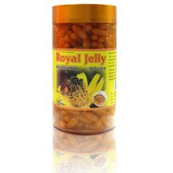 01 hộp sữa ong chúa Royal Jelly + 01 hộp trà gừng + 01 hộp (60v) cao nấm linh chi Nature