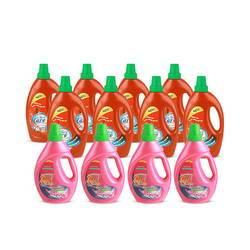 Bộ 8 chai nước giặt + 4 nước xả vải  Forecare