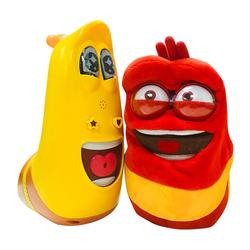 Bộ đồ chơi trẻ em Larva Vàng/Larva Đỏ + Tặng áo thun Tobot