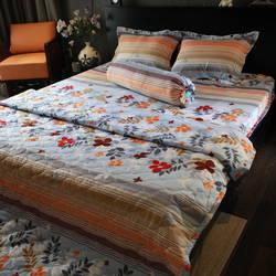 Chăn Drap AIR WEAR BED 1m8 - CẦU VỒNG TÌNH YÊU (tặng 1 drap + 2 vỏ gối nằm + 1 vỏ gối ôm)