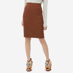 Chân váy gạch đậm bạ lưng Leena 8VN012