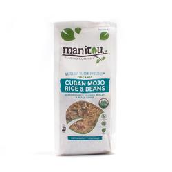 Woodland Foods_2 gói hỗn hợp gạo và đậu hữu cơ Cuban Mojo Rice & beans 198g