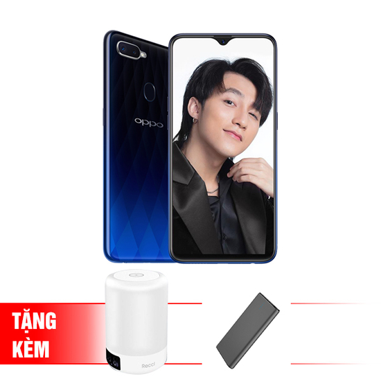 [OPPO] Điện thoại OPPO F9 Chính hãng + Pin Dự phòng  PP201+ Loa Bluetooth RBS E1