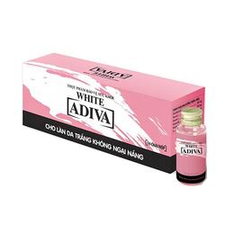 02 hộp (14 lọ/hộp) White Adiva + 01 hộp (08 lọ) Adiva Collagen_Live