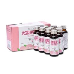 Innopha_3 hộp collagen de happy (5 chai/hộp) + 1 chai Tokachi + 1 lọ bột collagenaid + 1 giỏ bố