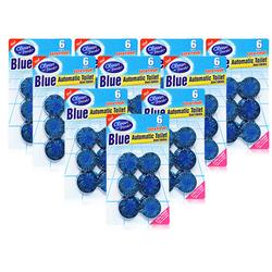 [BLUE]Bộ 60 viên về sinh bồn cầu tặng12 viên + 1 chai nước lau sàn+2 chai nước rửa chén