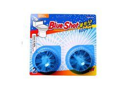 Bộ 9 vỉ vệ sinh bồn cầu Blueshot + 3 vỉ + 6 khăn