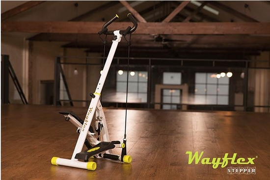 Thiết bị đi bộ siêu gọn 15 tác động Wayflex Stepper + 1 Áo thun thể thao + 1 Khăn