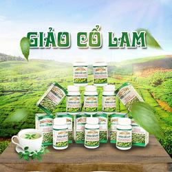Bộ 10 Hộp Giảo Cổ Lam + 01 túi (200gr) tỏi đen cô đơn Đông Á