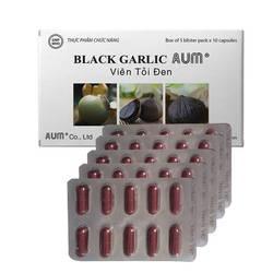Combo 4 hộp viên nang tỏi đen (50v/hộp)