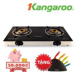 [KANGAROO- 58'] Bếp gas đôi KG506 + bộ dao 6 món Korchen