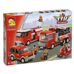 Bộ lắp ghép FIRE DEPARTMENT SERIES FD3291