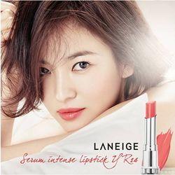 Son Serum màu hồng đỏ ánh vàng Laneige Serum Intense Lipstick YR24