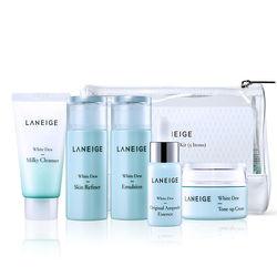 Bộ dưỡng trắng toàn diện Laneige White Dew Trial Kit (Mới)