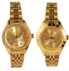 Đồng hồ cao cấp SWISS GUARD Mạ vàng 24K (+1 Bộ trang sức/ Bộ ví + dây nịt)