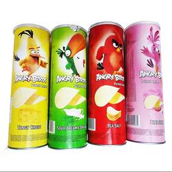 Angry Birds_1 thùng 4 hương vị (muối biển, thái, hành, phô mai tangy) lon 100gr