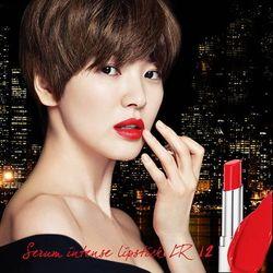 Son Serum màu đỏ rực Laneige Serum Intense Lipstick R12