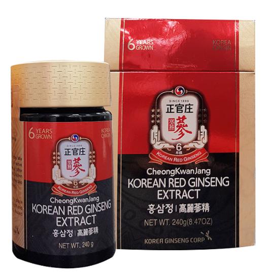 CHEONG KWANG JANG -Tinh Chất Hồng Sâm Cô Đặc KRG Extract 240g - Global Extract