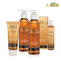 Bộ dầu gội ngăn rụng tóc + dưỡng tóc mọc dày Megumi (2 gội + 1 xả +1 tinh chất)