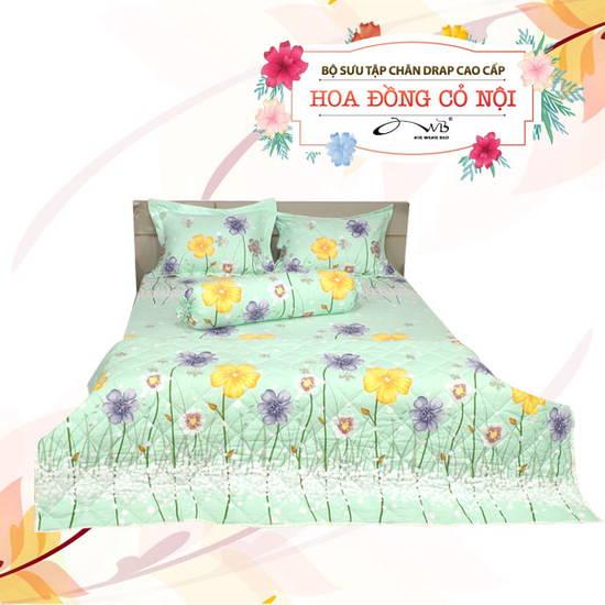 AIR WEAR BED- BST Sắc Hoa 2 trong 1 1m8
