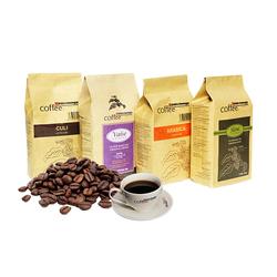 [GN-Bùi Văn Ngọ] 4 gói cà phê rang xay( tặng 2 phin pha+ 2ly sứ ML+ 1 hộp cà phê 3in1)