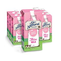 IFSS_12 hộp sữa So Nautral skim milk 1 lít