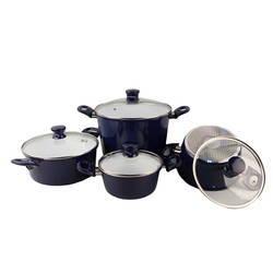 Bộ 4 nồi Ceramic bếp từ ILO Thịnh Vượng (tặng 1 bếp gas hồng ngoại Rainy)