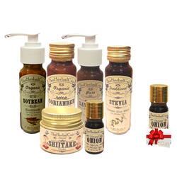 Combo trị mụn và thâm cho da hỗn hợp The Herbal Cup + 1 serum hành tây