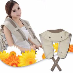 [Tuhipa] Massage Set : Đai massage cổ + Đai massage X5 + Gối Massage
