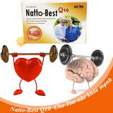 Viên phòng&điều trị đột quỵ Natto Best Q10 (6 hộp)