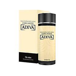06 hộp (70 viên/hộp) Adiva Collagen + 01 hộp (14 lọ) White Adiva_Live