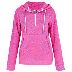 Áo nỉ nữ chui đầu KI261608- GY màu đốm hồng