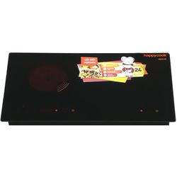 Happy Cook  Bếp hồng ngoại - điện từ Fornax HC-3800DH( 1 chảo 24, 2 nồi 16,14)