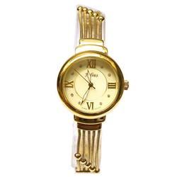 Đồng hồ nữ kim màu vàng số la mã Julius JA-834