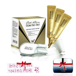 Combo 1 V-line 4D Belt + bộ 3 V-line 4D Gold Cream 30g (tặng 1 dán móng +1 kem dưỡng mắt)