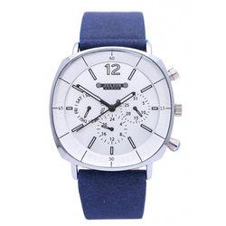 Đồng hồ nam Julius Hàn Quốc Jah-098 Ju1245 (Xanh Mặt Trắng)