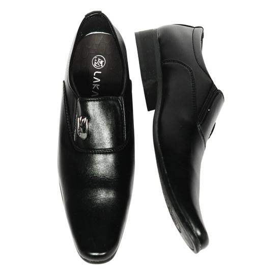 Laka - Combo Giày Mùa Hè (1 Giày Tây +1 Sabo) Tặng 2 Đôi Dép (Nâu+Đen)