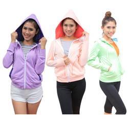 Giảm 50k - Bộ 3 áo khoác nữ chống tia UV Kisetsu