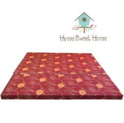 HOME SWEET HOME - Nệm bông ép 1m6x8cm tặng 2 bộ drap bọc  + 2 gối nằm + 1 gối ôm