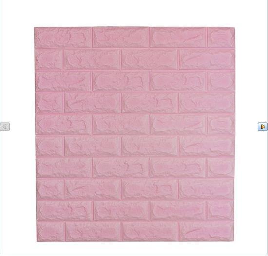 Bộ 6 tấm Gạch xốp dán tường  Foam Block + Bộ 2,5 Tấm cùng loại