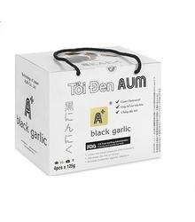AUM-Combo 4 túi tỏi đen cô đơn chưa bóc vỏ 125gr/túi