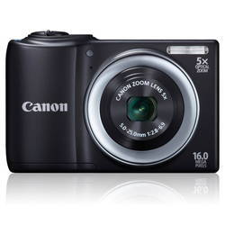 Máy ảnh Canon A810 (Thẻ 4GB + Bao da + áo thun+album+khăn tắm)